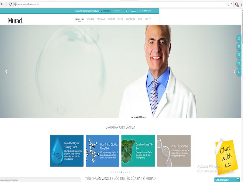 website murad