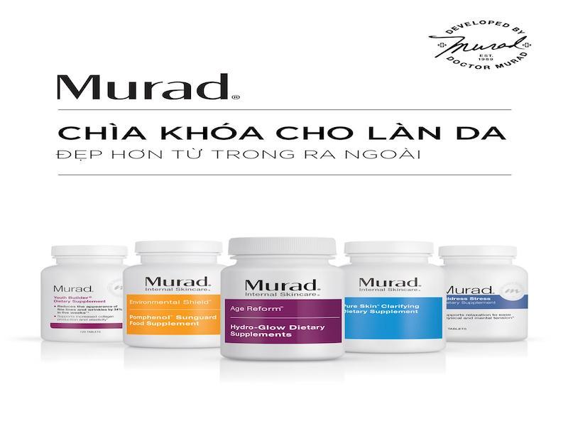 Review các loại viên uống Murad