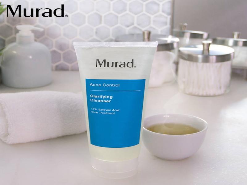 murad sữa rửa mặt trị mụn cho da dầu