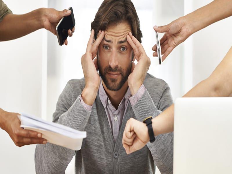 căng thẳng stress hại da