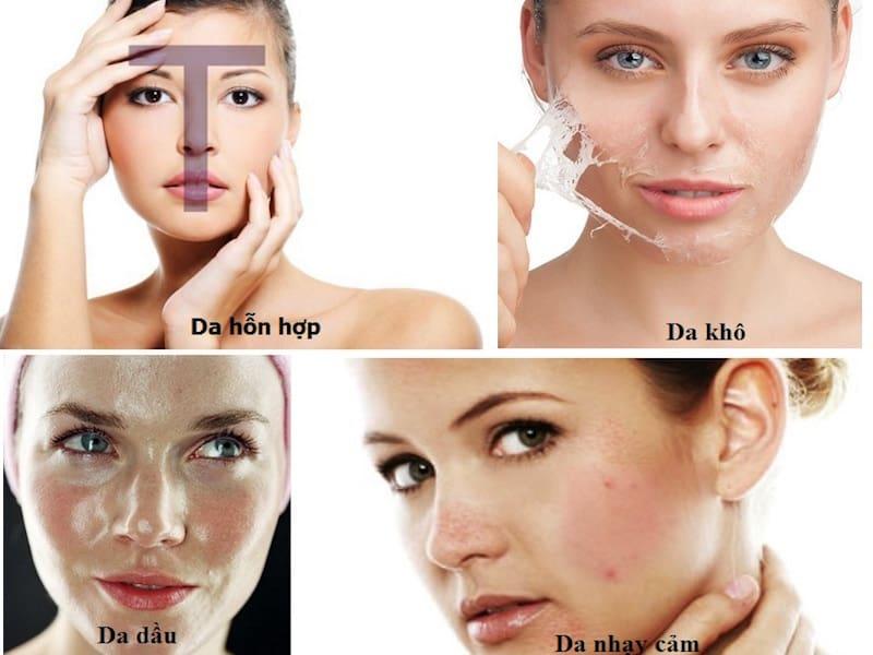 Hãy xác định loại da trước khi bắt tay vào chăm sóc!