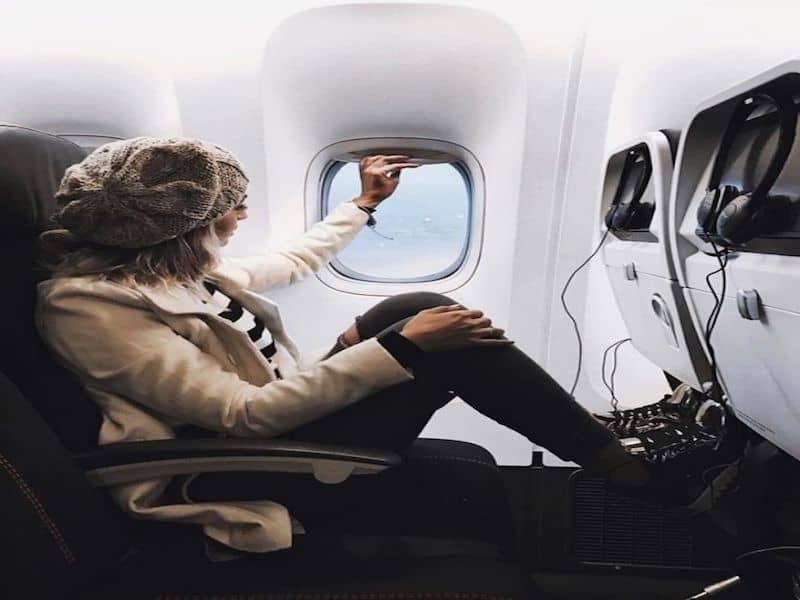 Nắm vững các thông tin giúp bảo vệ da trên các chuyến bay dài